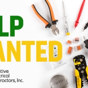 help wanted electricians