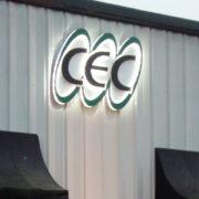 CEC Logo Building Sign