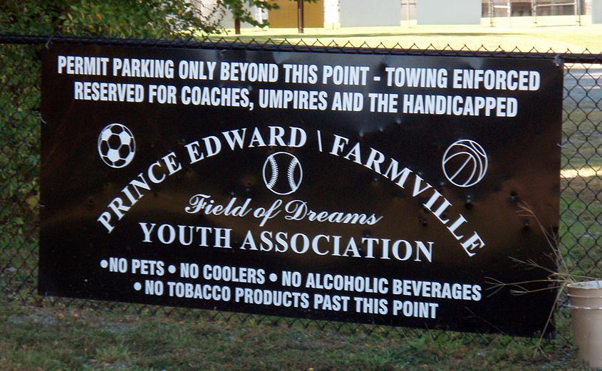 Prince Edward - Farmville Youth Association Field of Dreams